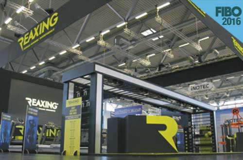 Reaxing exhibition at FIBO 2016 image
