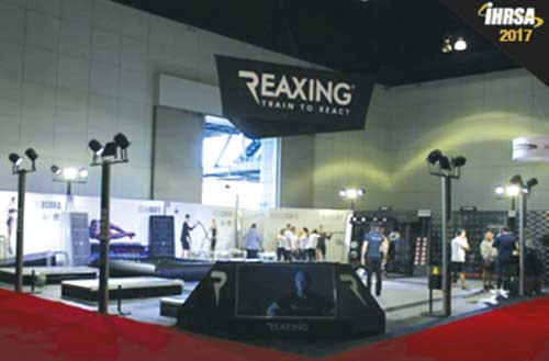 Reaxing exhibition at IHRSA 2017 image