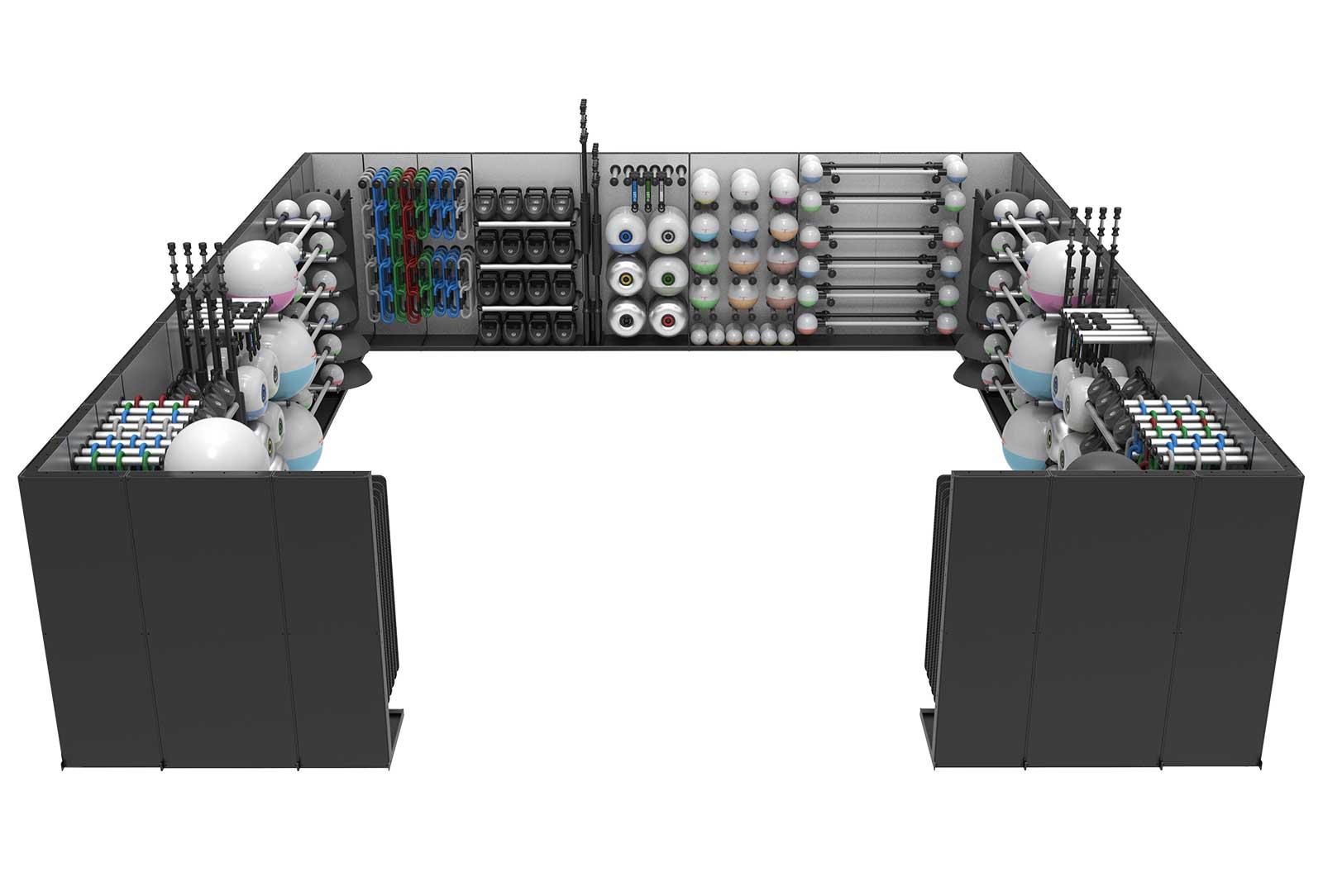 Reax Storage Room Configuration