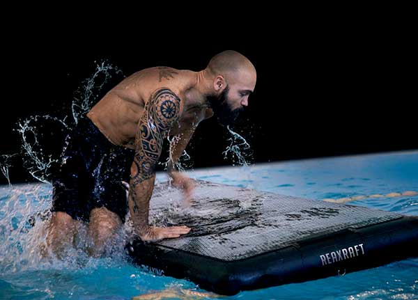 RAF reax raft Agua Functional Training program