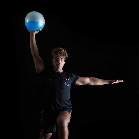 Fluiball for strength training