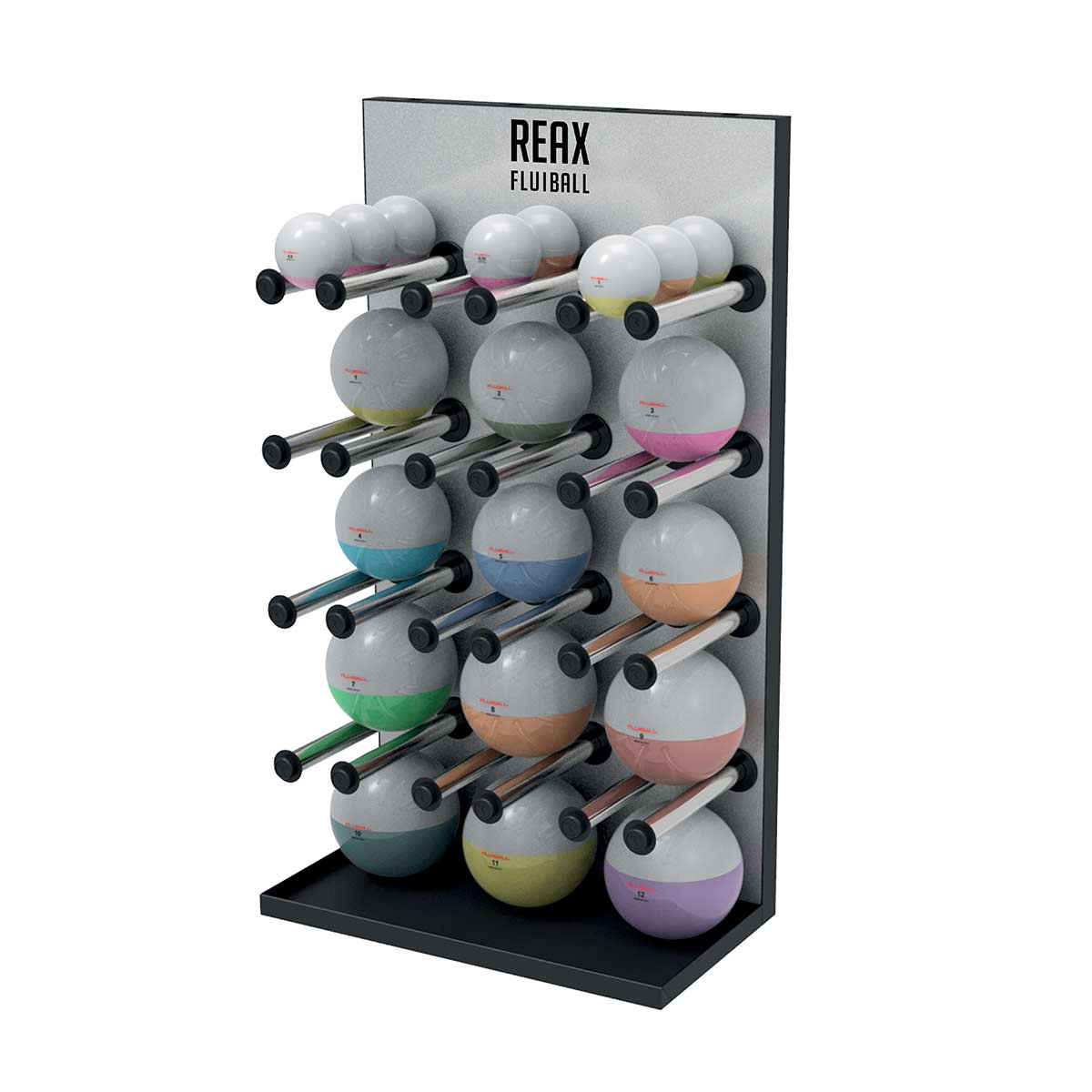 Reax Fluibal Display Vertical Storage